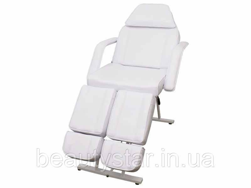 Кресло - кушетка педикюрная косметологическая раздельной подножкой кресло для педикюра для тату салона 240