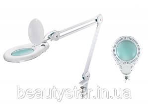 Лампа-лупа мод. 8066-3D LED (3 диопт.), кріплення до столу