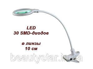 Лампа-лупа настільна мод. 2014 LED 3D