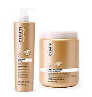 Маска с аргановым маслом для окрашенных волос Inebrya PRO-AGE Olio Di Argan, 1000 мл