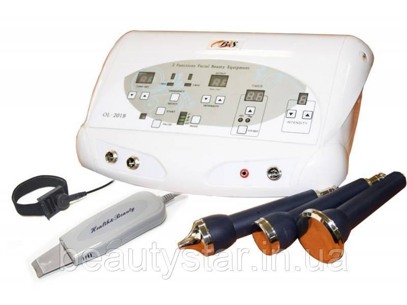 Ультразвуковий апарат для УЗ-пілінг, фонофорезу і мікромасажу модель 201. ВІДЕО