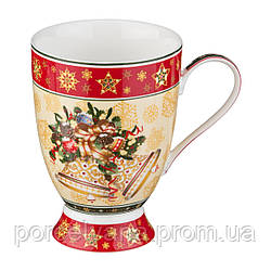 Фарфоровая чашка 350 мл Christmas Lefard