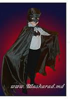 Карнавальный костюм Бэтман, комплект Летучая мышь, Чертик, Клякса, Слякоть, Бэтмен