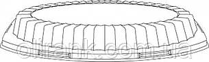 Крышка прозрачная, для тарелки 9PRWQR   125шт/уп(4уп/ящ)