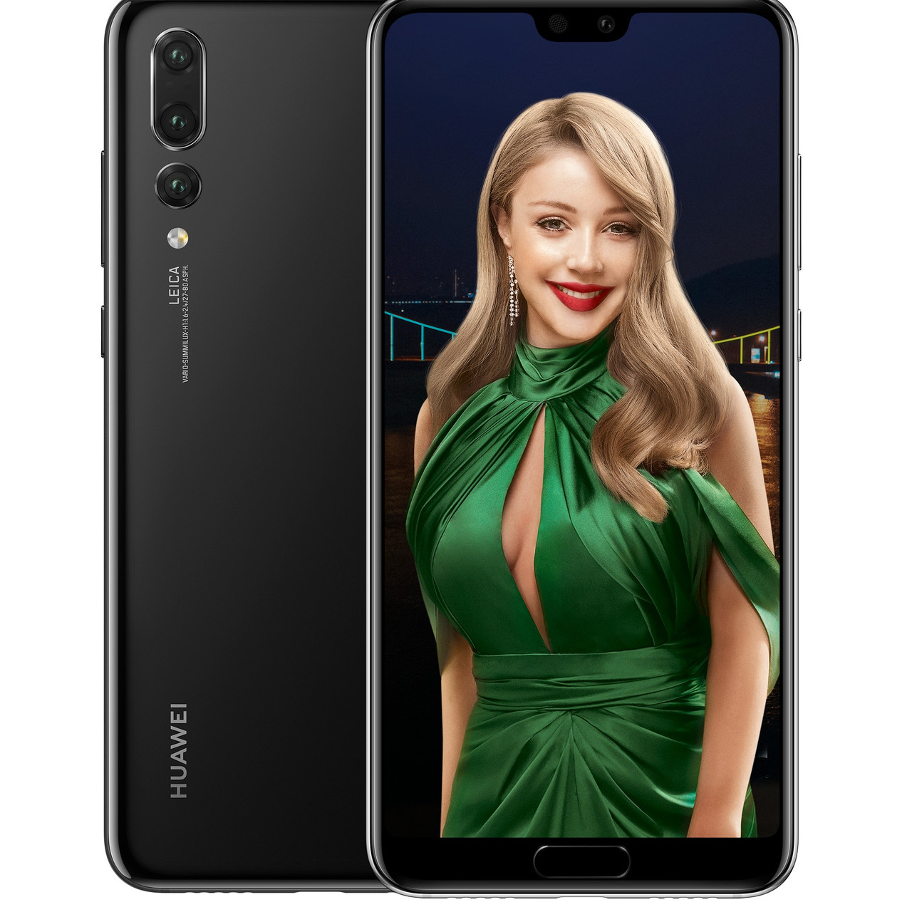 HUAWEI P20 Pro 6/128GB Black (51092EPD) UA