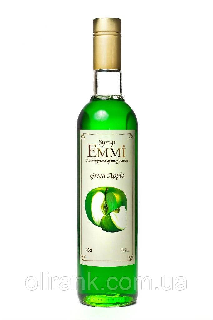 "Сироп Зеленое яблоко TM ""Emmi"" 900гр"