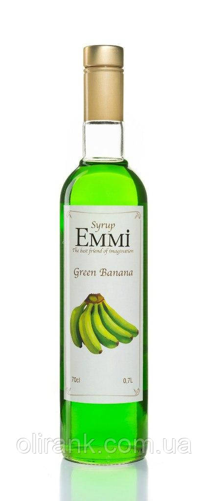 "Сироп Зеленый банан TM ""Emmi"" 900гр"