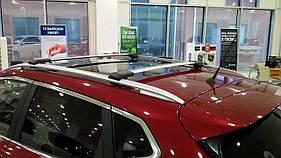 Перемычки на рейлинги без ключа (2 шт) - Fiat Bravo 2008+ гг.