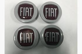 Колпачки в оригинальные диски 49/42,5 мм (4 шт) - Fiat Bravo 2008+ гг.