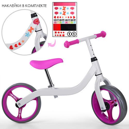 Profi Kids Беговел Profi Kids M 3843-3 White Pink (M 3843)