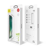 Защитное Стекло для iPhone X 4D Baseus Pro 0.3mm Protector Tempered Glass For iPhone X Soft Edge