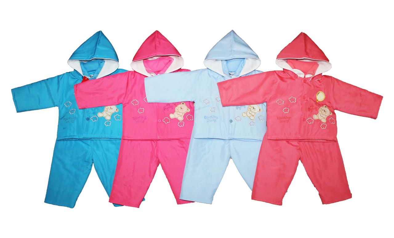 Костюм детский теплый для мальчика и девочки.