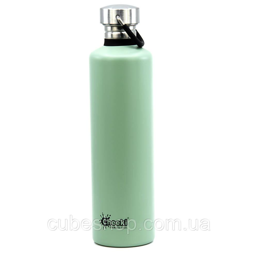 Бутылка для воды Cheeki Classic Single Wall Pistachio (1 литр)