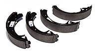Колодка задняя тормозная ВАЗ 2108, 2109, 21099, 2110, 2111, 2112 (пр-во SCT ) комплект