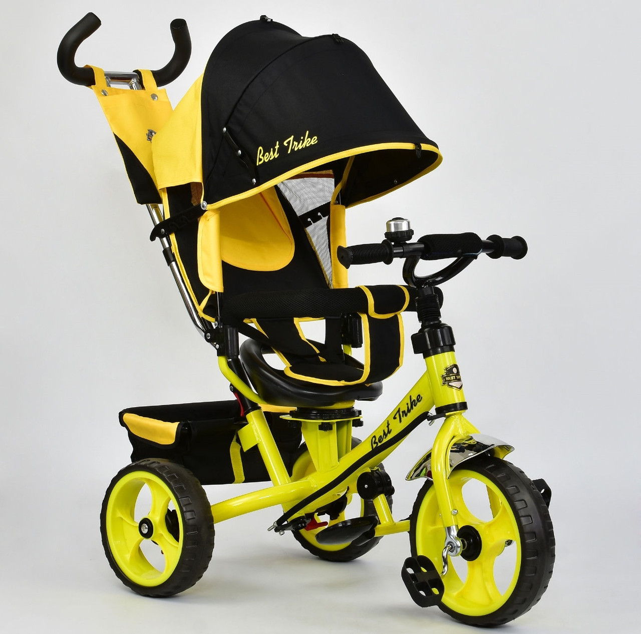 Best Trike Велосипед Best Trike 5700 4890 Black Yellow (5700)