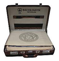 Набор столовых приборов Bachmayer (Switzerland) в дипломате на 12 персон, 72 предмета