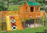 Строим детскую площадку: песочницы, домики, горки, качели