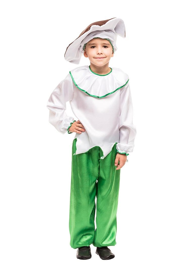 Детский карнавальный маскарадный костюм гриб Боровик размер:104-134 см