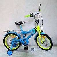 "DT Велосипед DT 20"" Blue-Yellow (182040), фото 1"