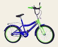 """DT Велосипед DT 20"""" Blue-Lime (172033), фото 1"""
