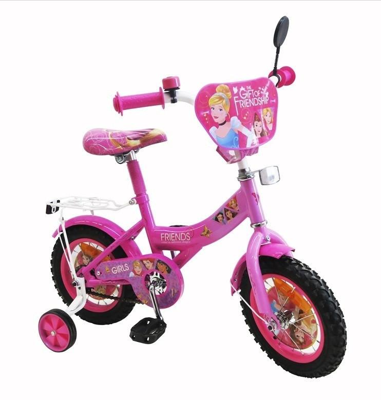 "DT Велосипед DT  12"" Pink (181202)"