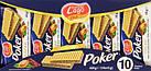 Вафлі Poker з начинкою какао, 225 грам, фото 2