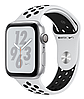 Apple Watch Series 4 Nike+ GPS 40mm Silver Aluminium with Platinum/Black Nike Sport band (MU6H2)