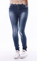 Зауженные джинсы с высокой талией. Артикул: CS9616