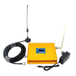 Усилитель связи 900 МГц и интернета WCDMA 2100 МГц