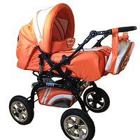 Trans Baby Коляска-трансформер Trans Baby Rover 05/Crem Orange/Cream (05/Crem), фото 1