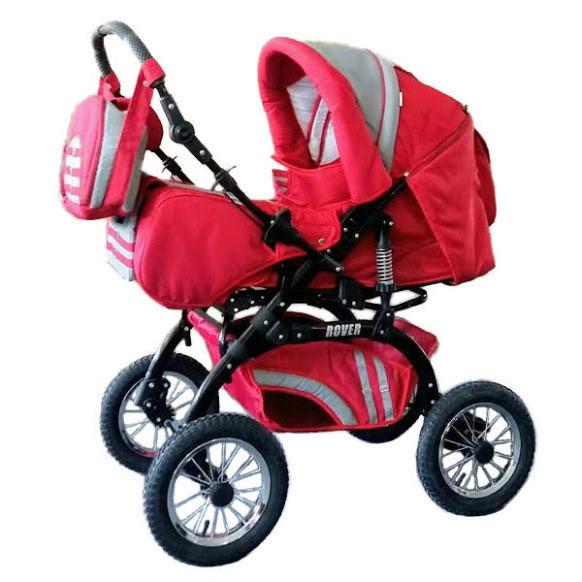 Trans Baby Коляска-трансформер Trans Baby Rover 15/16 Red/Metallic (15/16)