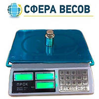 Весы торговые настольные ПРОК 823-В (40 кг)