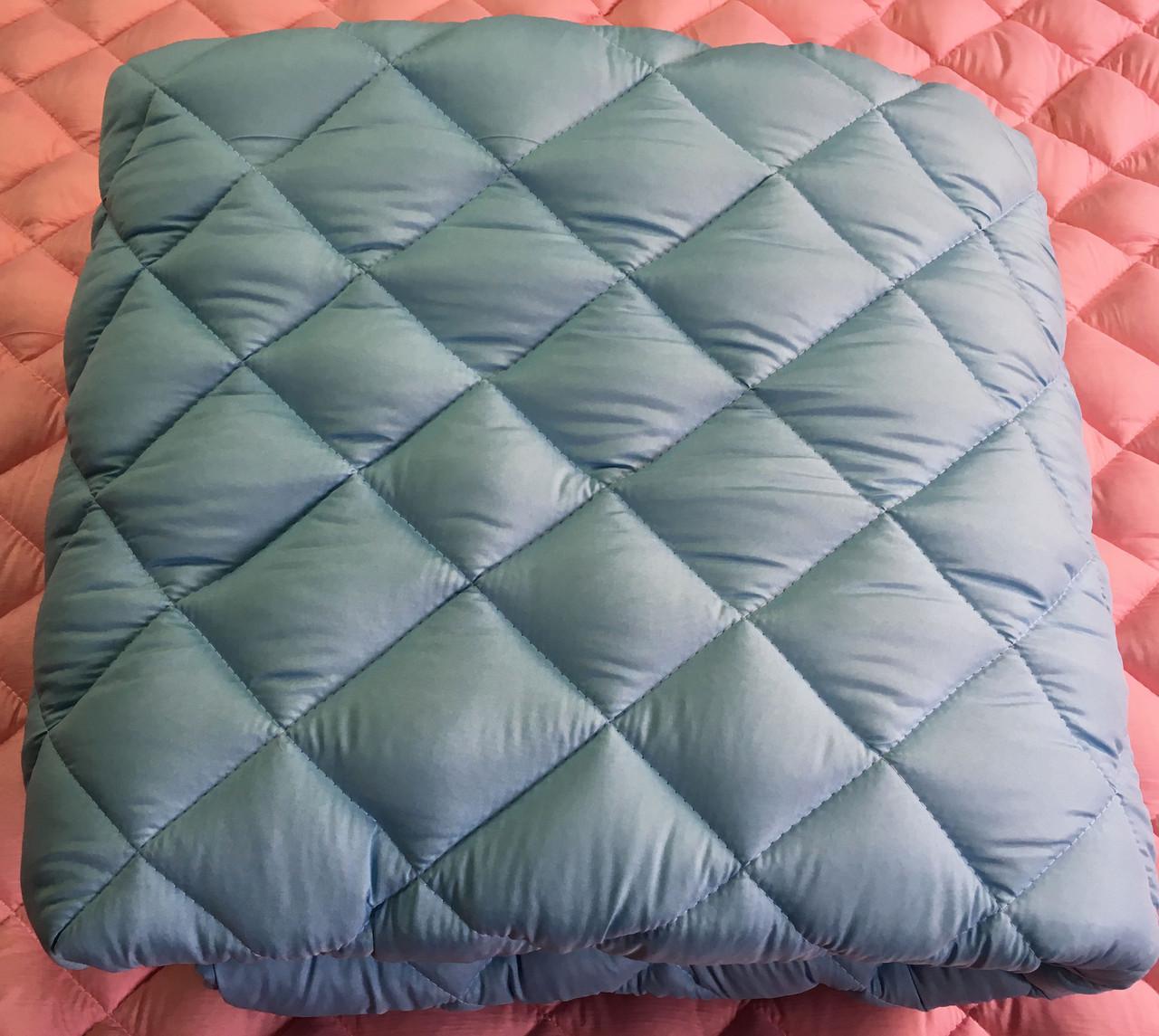 Одеяло двуспальное микрофибра холофайбер КУБ 180*210 (4809) TM KRISPOL Украина