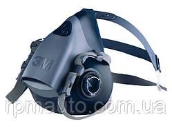 Напівмаска 3М 7501 розмір S Респіратор для Фарбування Захисна Маска від Пилу Клапан Видиху Захист FFP3