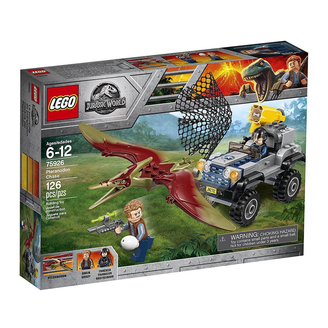 Конструктор Лего 75926 Парк Юрського періоду Гонитва за птеранодоном