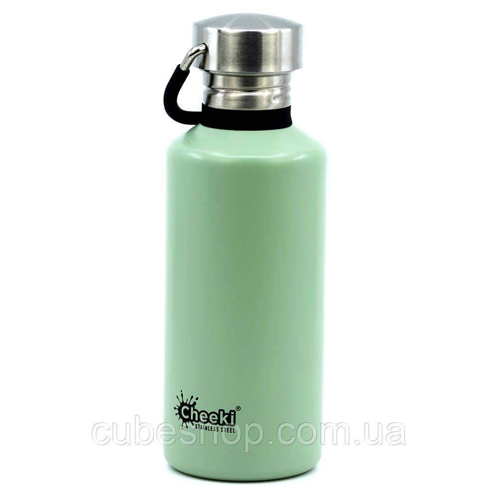 Бутылка для воды Cheeki Classic Single Wall Pistachio (500 мл)