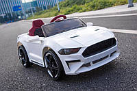 Tilly Электромобиль Tilly Ford Mustang White (T-7625), фото 1