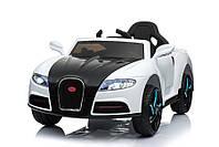 Tilly Электромобиль Tilly Bugatti White (T-7627), фото 1