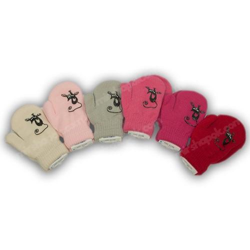 Дитячі теплі рукавички