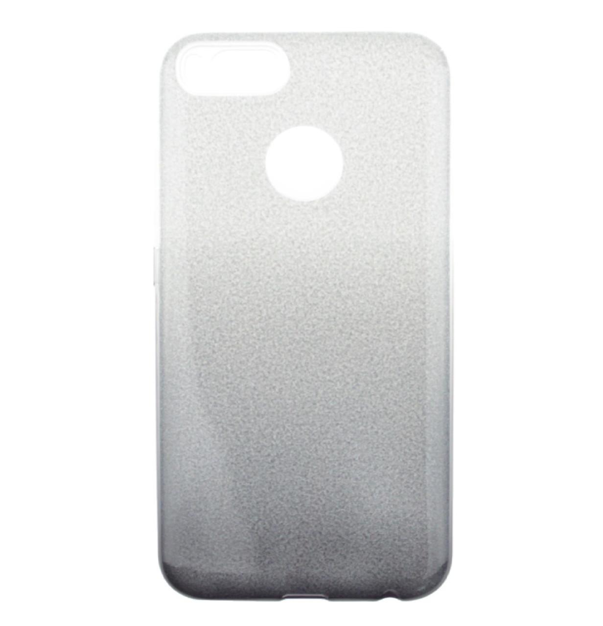 Чехол-накладка TOTO TPU Case Rose series Gradient 3 in 1 для Xiaomi Mi A1 / Mi 5X Silver / Black