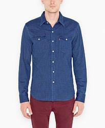Джинсовая рубашка Levis Barstow Western - Double Denim