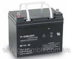 Аккумулятор SUNLIGHT SP12-33, 12В 33 А*ч