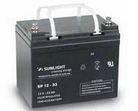 Аккумулятор SUNLIGHT SP12-33, 12В 33 А*ч, фото 1
