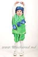 Карнавальный костюм Колокольчик (велюровый), костюм Колокольчик цветочек
