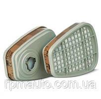 Фільтр вугільний 3M 6055 (А2-органічні пари) для маски 3М 6000 і 3M 7500 3M 6000 FF-400