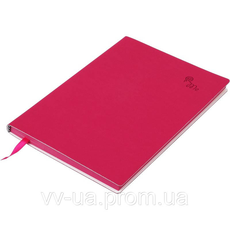 Записная книга Buromax Touch Me А5, 96 л., чистый, малиновый (BM.295002-29)