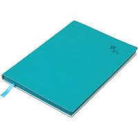 Записная книга Buromax Touch Me А5, 96 л., чистый, темно-бирюзовый (BM.295002-35)