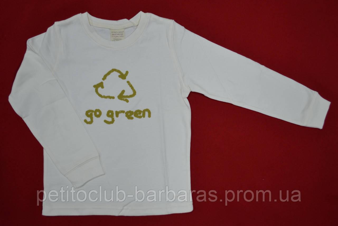"""Реглан з органічної бавовни """"Go green"""" (Zeyno&Memo, Туреччина)"""