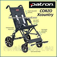 Специальная коляска для детей с ДЦП Patron CORZO XcountryRehab Buggy CRX 38