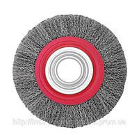Щетка дисковая из рифленой проволоки 150х32мм